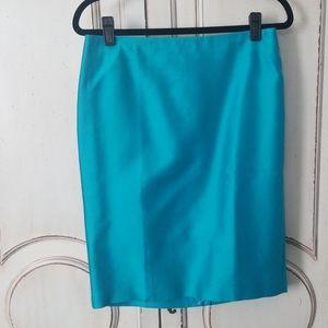 NWT Talbot's silk/cotton blend skirt